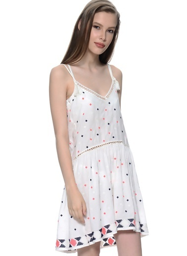 FREEMINDS Elbise Beyaz